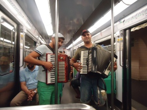 Accordions aren't dorky in France